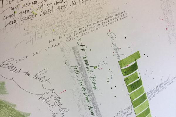 Der Baum - ein Gedicht des Auftraggebers